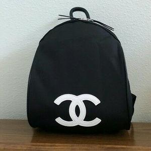 Brand New VIP Gift Black Nylon Backpack